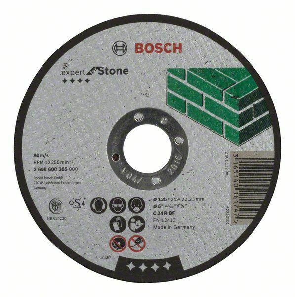 Dělicí kotouč rovný Expert for Stone - C 24 R BF, 125 mm, 2,5 mm - 3165140181747 BOSCH