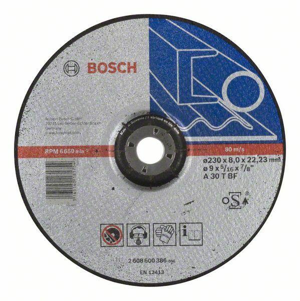 Hrubovací kotouč profilovaný Expert for Metal - A 30 T BF, 230 mm, 8,0 mm - 3165140181754 BOSCH