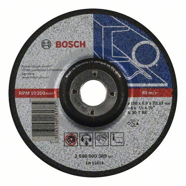 Hrubovací kotouč profilovaný Expert for Metal - A 30 T BF, 150 mm, 6,0 mm - 3165140181785 BOSCH