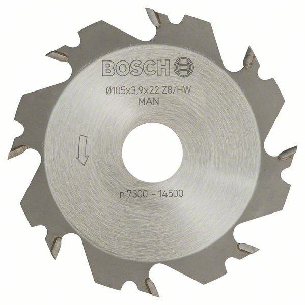 Kotoučová fréza - 8, 22 mm, 4 mm - 3165140184359 BOSCH