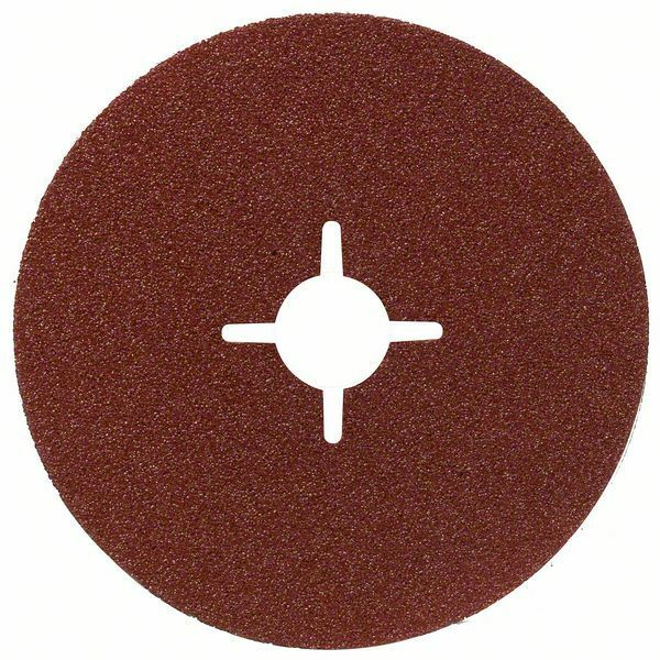 Fíbrový brusný kotouč R444, Expert for Metal; 100 x 16 mm, 60 - 3165140185172 BOSCH