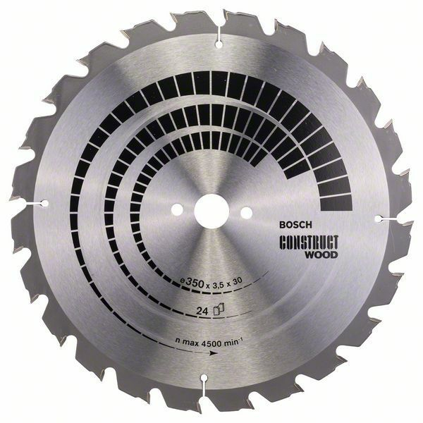 Pilový kotouč Construct Wood - 350 x 30 x 3,5 mm, 24 - 3165140194754 BOSCH