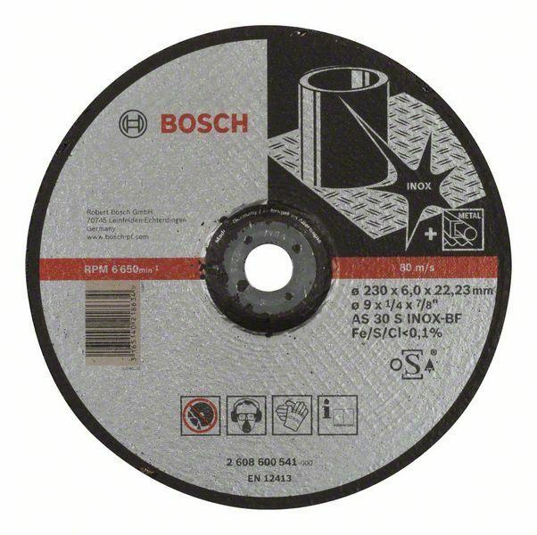 Hrubovací kotouč profilovaný Expert for Inox - AS 30 S INOX BF, 230 mm, 6,0 mm - 316514021 BOSCH