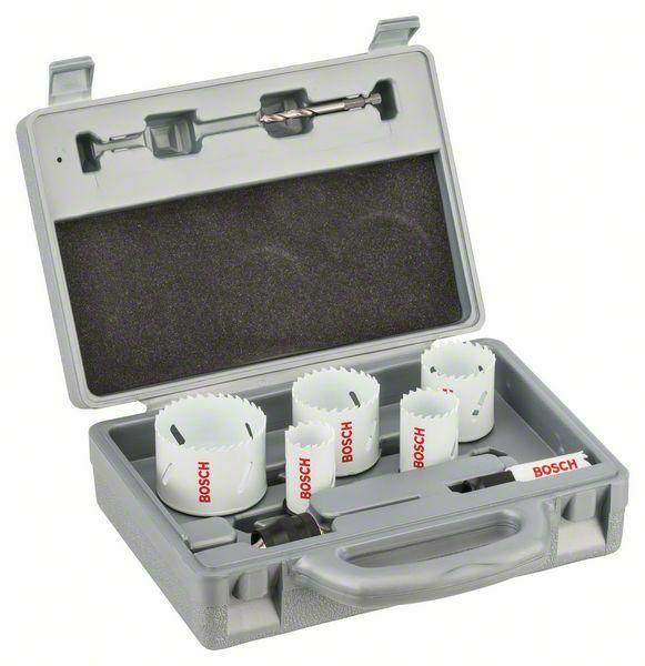 9dílná sada pilových děrovek pro elektrikáře - 22; 29; 35; 44; 51; 64 mm BOSCH