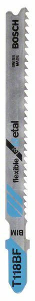 Pilový plátek do kmitací pilky T 118 BF - Flexible for Metal - 3165140264419 BOSCH