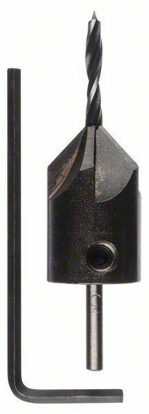 Spirálové vrtáky do dřeva se záhlubníkem - 3,0 mm - 3165140323666 BOSCH