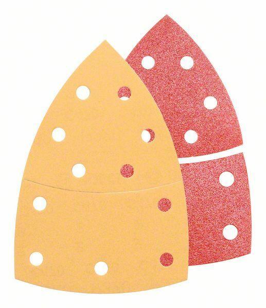 25dílná sada brusných papírů C470 aC430; 102 x 62, 93 mm, 3x40, 6x80, 3x120, 3x180, 2x40, BOSCH