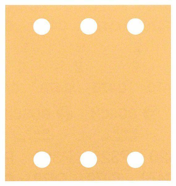 Brusný papír C470, balení 10 ks; 115 x 107 mm, P120 BOSCH