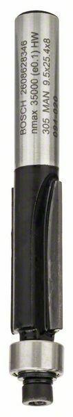 Zarovnávací fréza - 8 mm, D1 9,5 mm, L 25,4 mm, G 68 mm - 3165140358071 BOSCH
