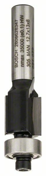 Zarovnávací fréza - 8 mm, D1 12,7 mm, L 13 mm, G 56 mm - 3165140358088 BOSCH