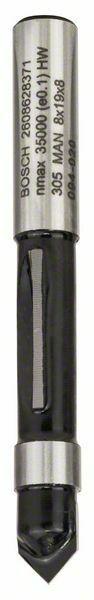 Kopírovací fréza - 8 mm, D1 8 mm, L 19 mm, G 64 mm - 3165140358323 BOSCH