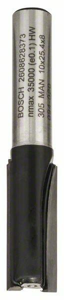 Drážkovací fréza - 8 mm, D1 10 mm, L 25,4 mm, G 56 mm - 3165140358347 BOSCH