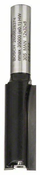 Drážkovací fréza - 8 mm, D1 12 mm, L 32 mm, G 62 mm - 3165140358354 BOSCH