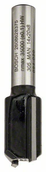 Drážkovací fréza - 8 mm, D1 14 mm, L 20 mm, G 51 mm - 3165140358361 BOSCH