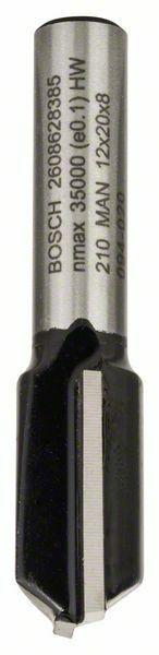Drážkovací fréza - 8 mm, D1 12 mm, L 20 mm, G 51 mm - 3165140358460 BOSCH
