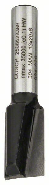 Drážkovací fréza - 8 mm, D1 13 mm, L 20 mm, G 51 mm - 3165140358477 BOSCH