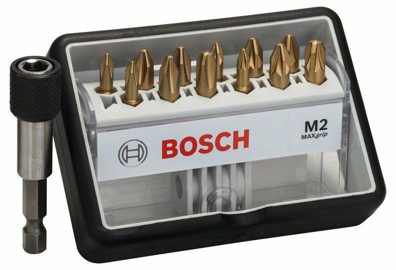 (12+1)dílná sada šroubovacích bitů Robust Line, M Max Grip - 25 mm, 12+1tlg. - 31651404016 BOSCH