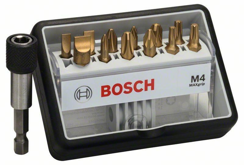 (12+1)dílná sada šroubovacích bitů Robust Line, M Max Grip 25 mm, (12+1)dílná sada - 31651 BOSCH