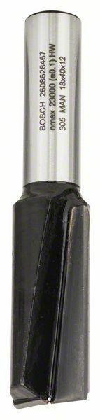 Drážkovací fréza - 12 mm, D1 18 mm, L 40 mm, G 81 mm - 3165140420303 BOSCH