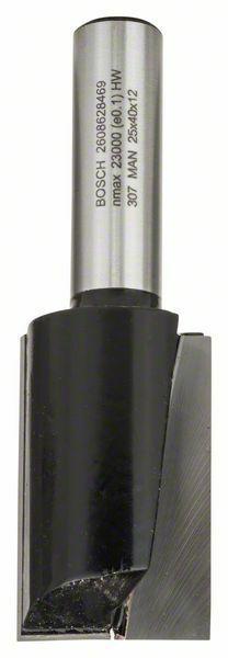 Drážkovací fréza - 12 mm, D1 25 mm, L 40 mm, G 81 mm - 3165140420327 BOSCH