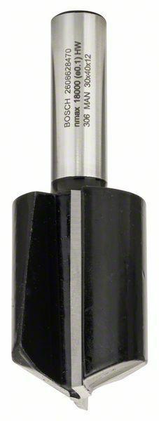 Drážkovací fréza - 12 mm, D1 30 mm, L 40 mm, G 81 mm - 3165140420334 BOSCH
