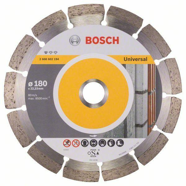 Diamantový dělicí kotouč Standard for Universal - 180 x 22,23 x 2 x 10 mm - 3165140441223 BOSCH