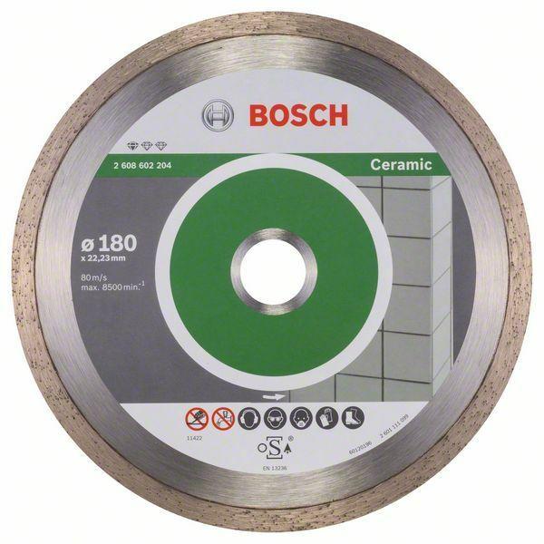 Diamantový dělicí kotouč Standard for Ceramic - 180 x 22,23 x 1,6 x 7 mm - 3165140441322 BOSCH