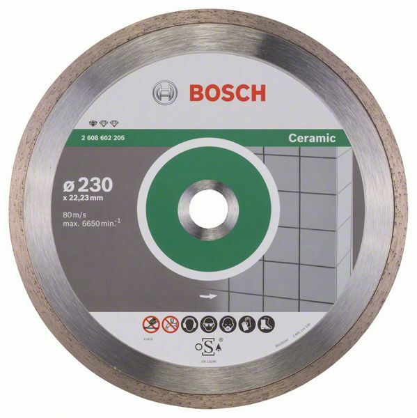 Diamantový dělicí kotouč Standard for Ceramic - 230 x 22,23 x 1,6 x 7 mm - 3165140441339 BOSCH