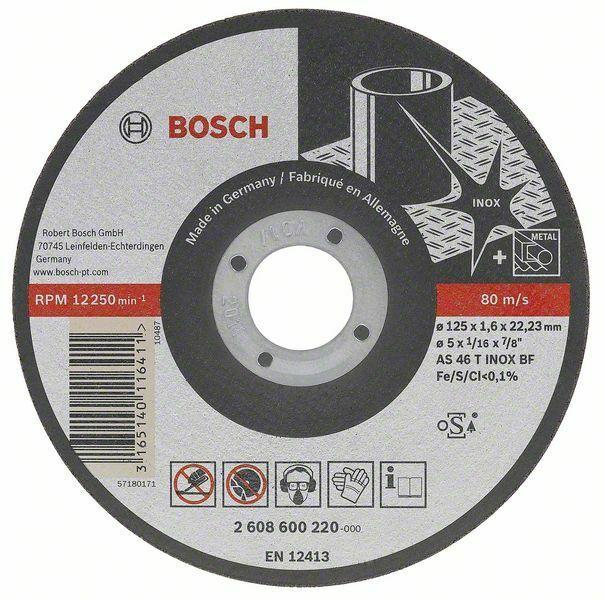 Dělicí kotouč rovný Best for Inox - Rapido Long Life - A 60 W BF 41, 115 mm, 22,23 mm, 1,0 BOSCH