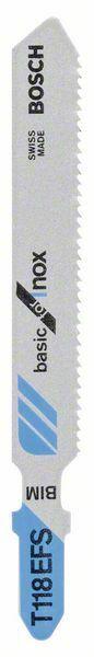 Pilový plátek do kmitací pily T 118 EFS - Basic for Inox BOSCH