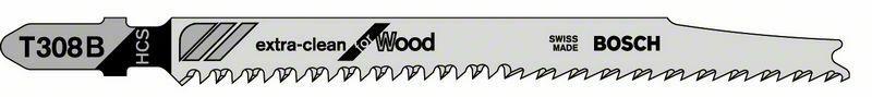Pilový plátek do kmitací pily T 308 B - Extraclean for Hard Wood - 3165140470285 BOSCH