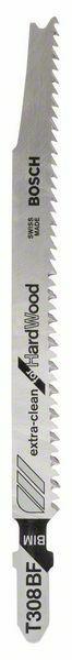 Pilový plátek do kmitací pily T 308 BF - Extraclean for Hard Wood - 3165140470346 BOSCH