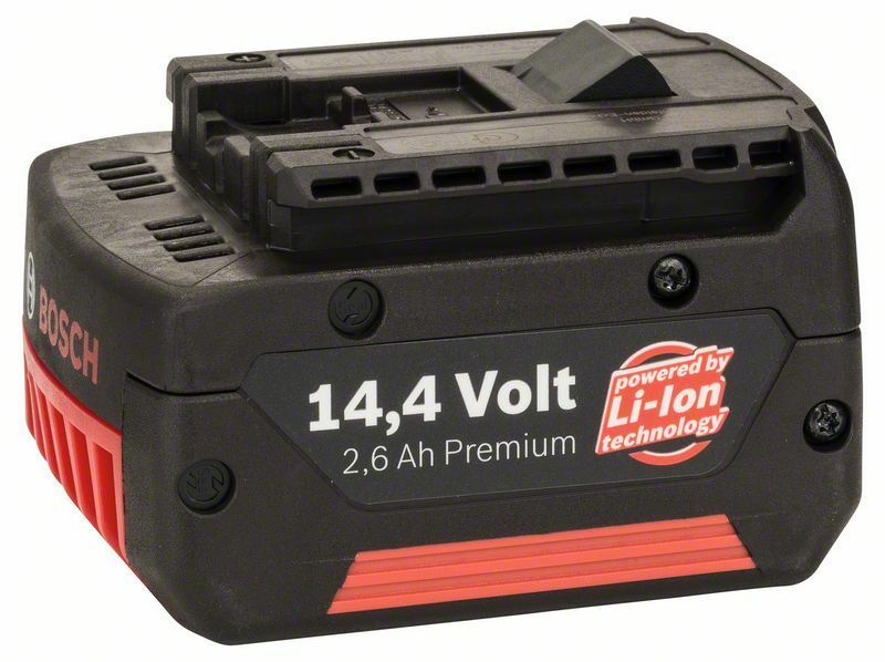 Zásuvný akumulátor 14,4 V - HD, 2,6 Ah, Li Ion BOSCH