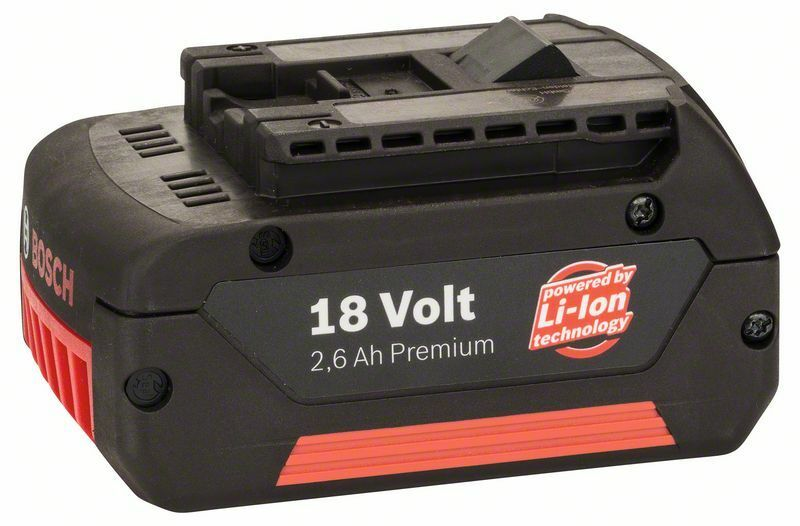 Zásuvný akumulátor 18 V - HD, 2,6 Ah, Li Ion - 3165140480895 BOSCH