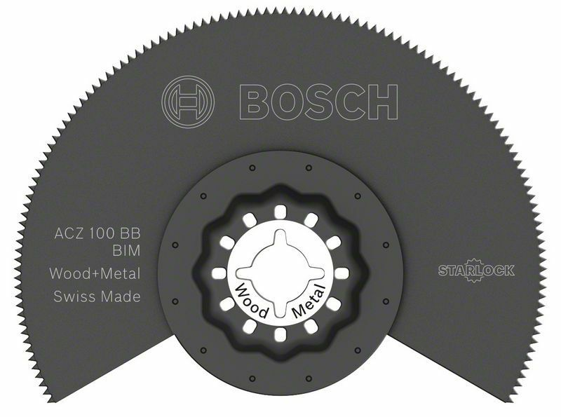 BIM segmentový pilový kotouč ACZ 100 BB Wood and Metal - 100 mm - 3165140492379 BOSCH