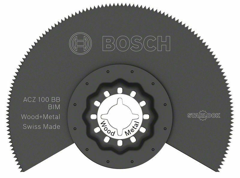 BIM segmentový pilový kotouč ACZ 100 BB Wood and Metal - 100 mm - 3165140492379 BOSCH