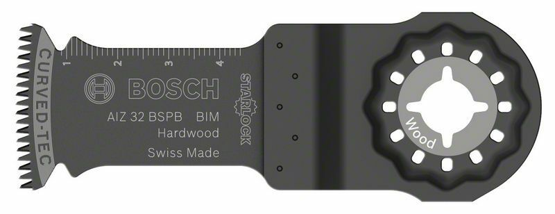 Ponorný pilový list BIM AIZ 32 BSPB Hard Wood - 50 x 32 mm - 3165140492485 BOSCH
