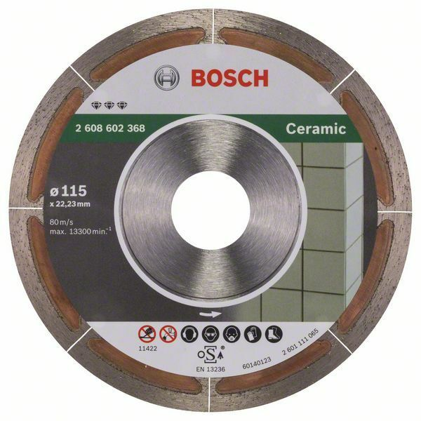 Diamantový dělicí kotouč Best for Ceramic Extraclean - 115 x 22,23 x 1,2 x 5 mm - 31651405 BOSCH