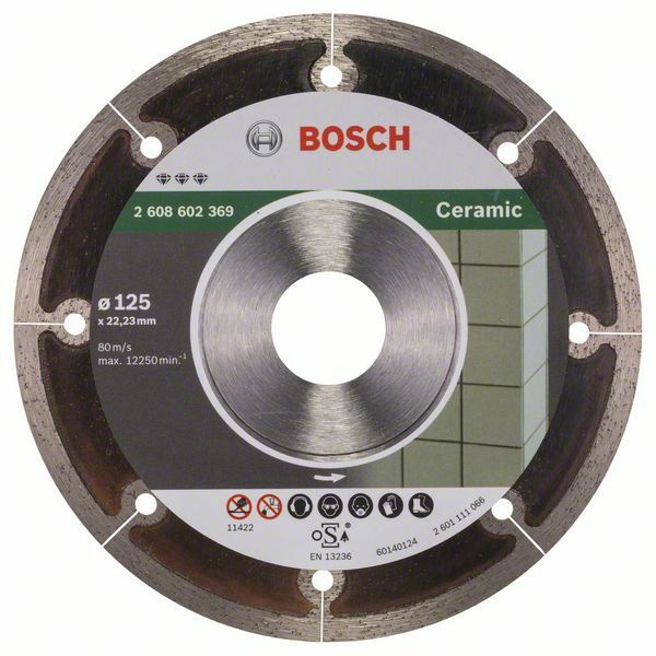 Diamantový dělicí kotouč Best for Ceramic Extraclean - 125 x 22,23 x 1,2 x 5 mm - 31651405 BOSCH