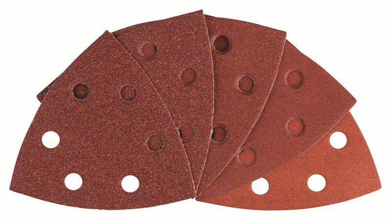 10dílná sada brusných papírů - 93 mm; 60; 80; 100; 120; 180 - 3165140509497 BOSCH