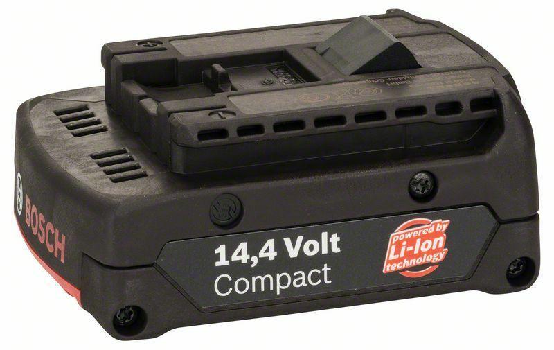 Zásuvný akumulátor 14,4 V - SD, 1,3 Ah, Li Ion BOSCH