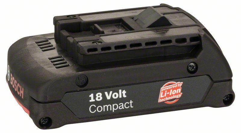 Zásuvný akumulátor 18 V - SD, 1,3 Ah, Li Ion - 3165140522977 BOSCH