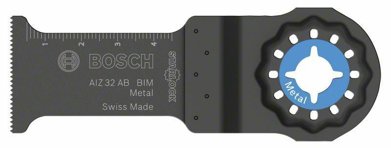 BIM ponorný pilový list AIZ 32 AB Metal - 32 x 50 mm - 3165140545525 BOSCH