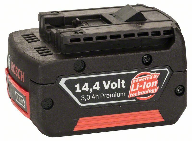 Zásuvný akumulátor 14,4 V - HD, 3 Ah, Li Ion BOSCH