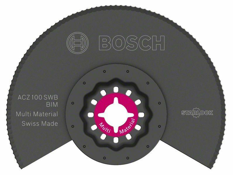 BIM Segmentový pilový kotouč se zvlněným výbrusem ACZ 100 SWB - 100 mm - 3165140546737 BOSCH