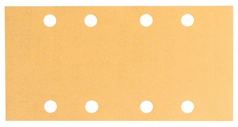 Brusný papír C470, balení 50 ks; 93 x 186 mm, 180 - 3165140550888 BOSCH