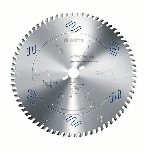 Pilový kotouč do okružních pil Top Precision Best for Laminated Panel Abrasive - 350 x 30 BOSCH