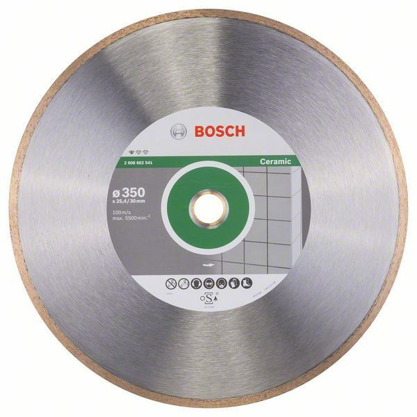 Diamantový dělicí kotouč Standard for Ceramic - 350 x 30+25,40 x 2 x 7 mm - 3165140576451 BOSCH