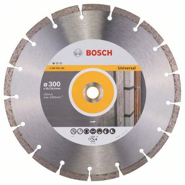 Diamantový dělicí kotouč Standard for Universal - 300 x 20,00+25,40 x 3,1 x 10 mm BOSCH