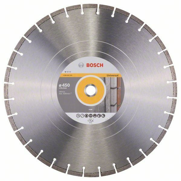 Diamantový dělicí kotouč Standard for Universal - 400; 450 x 25,40 x 3,6 x 10 mm BOSCH